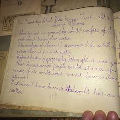 Howard's schoolwork