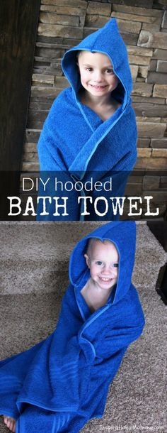 51 Things to Sew for Baby - DIY Hooded Bath Towel - Cool Gifts For Baby, Easy Things To Sew And Sell, Quick Things To Sew For Baby, Easy Baby Sewing Projects For Beginners, Baby Items To Sew And Sell http://diyjoy.com/sewing-projects-for-baby