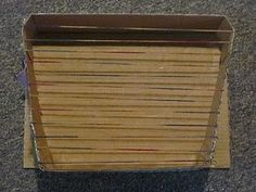 Homemade zither (musical instrument)