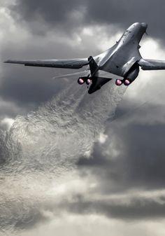 pinterest.com/fra411 #aircraft - Rockwell B-1