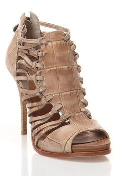 Eliot Sandals In Taupe by MaxStudio