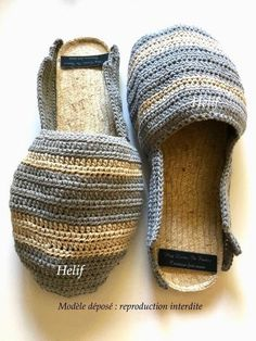 0a775f9f84e05 Espadrilles men slippers mules grey and beige cord non-slip sole Made In  France shoe handmade HeyLaineInFrance Camargue