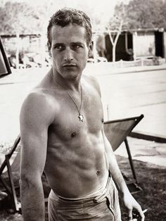 Paul Newman. Yes, please.
