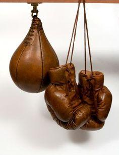 Speedball & Boxing gloves © John Woodbridge Makers