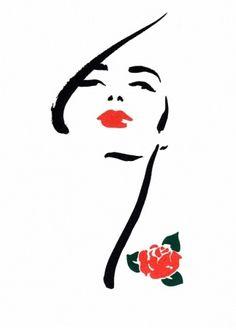 Scrapbook: Michel Canetti - Fashion Illustrator