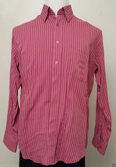 BUGATCHI UOMO men size M dress #shirt button down (red color) visit our ebay store at  http://stores.ebay.com/esquirestore