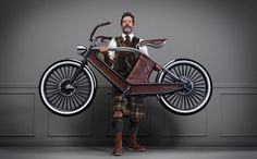 The Eclectic-Electric Cykno Bicycle