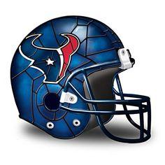 Houston Texans Football Helmet Accent Lamp. $79.95 #Texans #NFL