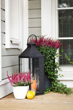 Vihervaara Front Door Planters, Tall Planters, Outdoor Planters, Flower Planters, Outdoor Decor, Garden Nook, Garden Yard Ideas, Garden Crafts, My Secret Garden