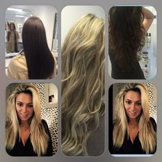 ... Connect System on Pinterest | Keratins, Extensions and Long blond hair