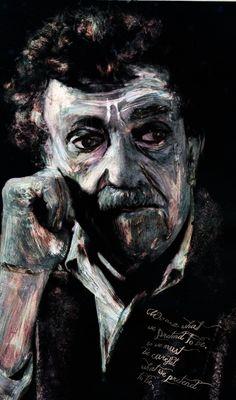Kurt Vonnegut by Alteroy