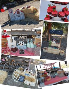 Barnyard / Farm Party Ideas (from Pinkie for Pink)