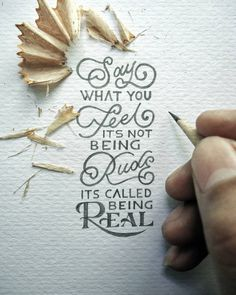 CULTURE N LIFESTYLE — Miniature Hand Lettered Quotes by Dexa Muamar...