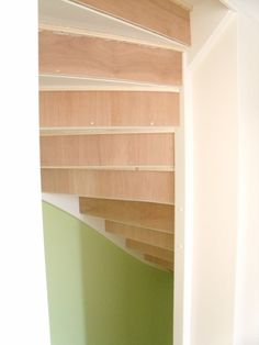 Open Trap, Layout, Indoor, Shelves, Staircases, Living Room, Inspiration, Home Decor, Stairs