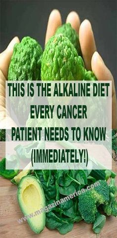 THIS IS THE ALKALINE DIET EVERY CANCER PATIENT NEEDS TO KNOW (IMMEDIATELY!)
