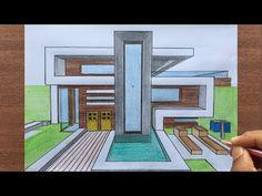 #theartacademy - YouTube Interior Architecture Drawing, Architecture Concept Drawings, Interior Design Sketches, Minimalist Architecture, Architecture Design, House Design Drawing, House Drawing, Floor Planner, Desert Design