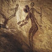 Artist: Unknown Date: Unknown Piece of Art:Human Figures Prehistoric Art Tassili N'Ajjer, Algeria Cool because: The detail of the piece is astonishing given the tools they had to make this painting. Ancient Aliens, Ancient Art, Ancient History, Ancient Discoveries, Cave Drawings, Archaeological Discoveries, Life Drawing, Ancient Mysteries, Rock Art