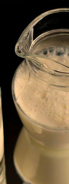 Fresh Milk, Panna Cotta, Homemade, Ethnic Recipes, Food, Homemade Almond Milk, Homemade Oatmeal, Rolled Oats, Breakfast