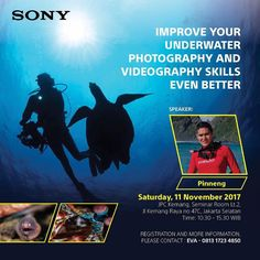 Join us!  Free workshop organized by @sonyindonesia