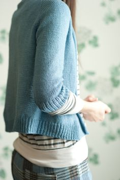Hannah Fettig Featherweight cardigan pattern. Permanently in the top 20 on Ravelry. Thousands knit.