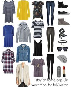 Stay at Home Capsule Wardrobe for Fall and Winter  31b552b13d8
