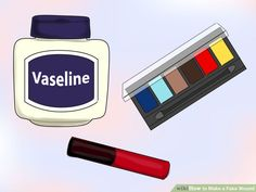 Image titled Make Fake Wounds Step 1 http://www.wikihow.com/Make-a-Fake-Wound
