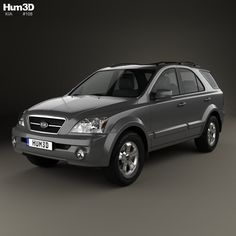 Buy Kia Sorento EX US-spec 2002 by on The model was created on real car base. Car 3d Model, Units Of Measurement, Kia Sorento, Cinema 4d, 3 D, The Unit, Models, Crossover, Korean