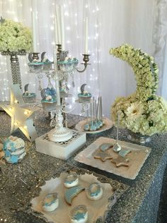 Stars/ moon Baby Shower Party Ideas | Photo 2 of 15