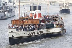 PS Waverley on the Thames London