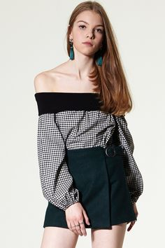 Denim Jumpsuit#Check Suit Pants#Yena Tassel Skirt#Aristi Wrap Skort Discover the latest fashion trends online at storets.com