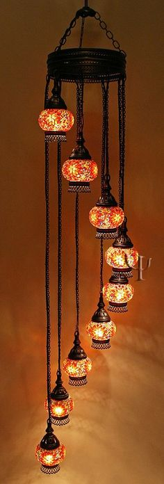 Mosaic Chandelier, I bought like this too, but had to redo the wiring when I got it home from Turkey. Chandelier Lamp, Chandeliers, Lamp Light, Light Up, Turkish Lamps, Idee Diy, Asian Decor, Moroccan Decor, Bohemian Decor