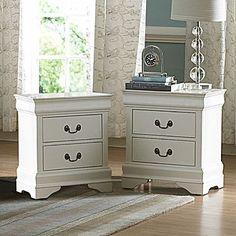 """Oxford Creek Nightstands / KMart 21L x 24H x 15 3/4""""D Master Bedroom Bedside Tables"""