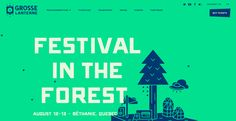 A web platform that shines bright like a diamond. Akufen was mandated to create the website of « Grosse Lanterne », a festival in the forest located in...
