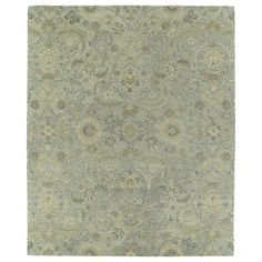 Christopher Kashan Light Blue Hand-tufted Rug (9'0 x 12'0) - Free Shipping Today - Overstock.com - 15668305