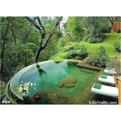 Hillside Pool (I would stay on the shallow end, thank you very much)