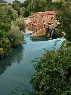 Antico mulino, Sassoferrato, Marche, Italy