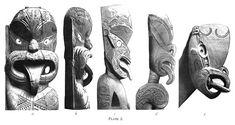 Journal of the Polynesian Society: Evolution Of Certain Maori Carving Patterns, By Gilbert Archey, P Polynesian People, Maori Patterns, Maori Designs, Maori Art, Pattern And Decoration, Fashion Books, British Museum, Pattern Art, Woody