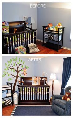 Lisa Harper: Amazing Interior Designer. Orlando, Florida Her Before & After: Baby boy nursery makeover.