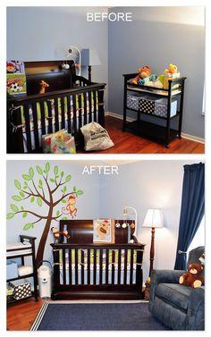Lisa Harper: Amazing Interior Designer. Orlando, Florida Her Before & After: Baby boy nursery makeover.