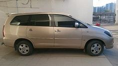 Toyota Innova V Top Model Golden Color 2.5 Ltr Smooth Engine, Best Second hand deal in India. call maxdeal.in