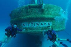 Grand Cayman: Sunken ship Kittiwake