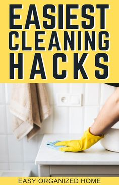 Cleaning has never been easier than with these super simple cleaning hacks to have your home clean in no time! #cleaninghacks #cleaningtips #Homehacks #clean #cleaning