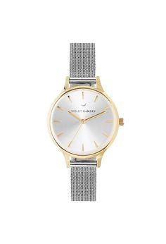 Violet Hamden Nowness Gold Moonlight Silver Gold Watch, Moonlight, Watches, Silver, Accessories, Wrist Watches, Wristwatches, Money, Tag Watches