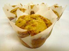 Banana Brickle Muffins - Damn Delicious