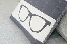 Sew What Sherlock Geek Glasses Paper Pieced Pattern by Sew What Sherlock, via Flickr