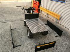 Battery Electric Wheelbarrow - Assembling process