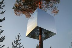 TREEHOTEL THE MIRRORCUBE