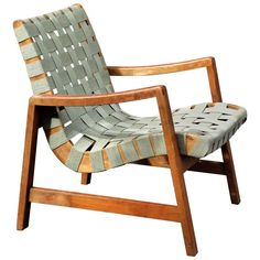 Early Jens Risom 652 Lounge Chair for Knoll ca.1949 | 1stdibs.com