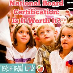 To pursue National Board Certification, or not to pursue?  That is the question.  Blog post on what it is and how teachers benefit from doing it!