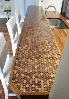 7 unusual kitchen countertops that totally work